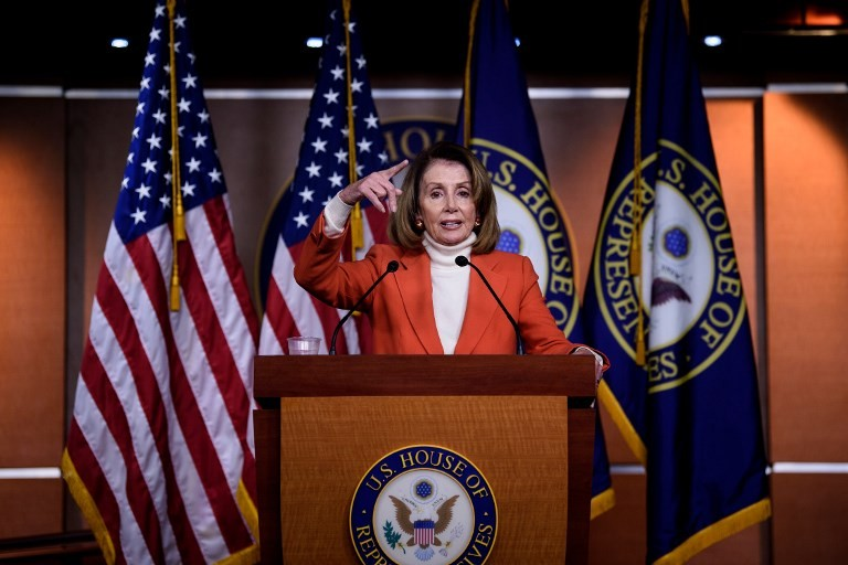 Stop holding Americans 'hostage' over shutdown, Pelosi tells Trump
