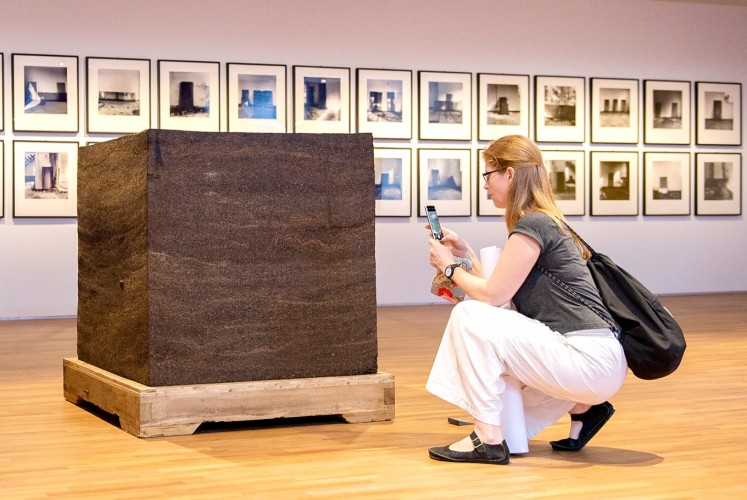 Ai Weiwei's Ton of tea (National Gallery Singapore/File)