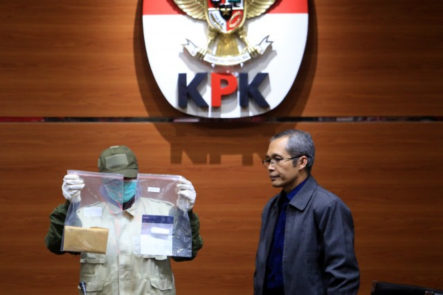 KPK names two judges bribery suspects, pushes for judicial reform