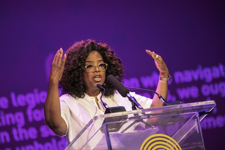 Oprah honors Mandela ahead of global charity concert
