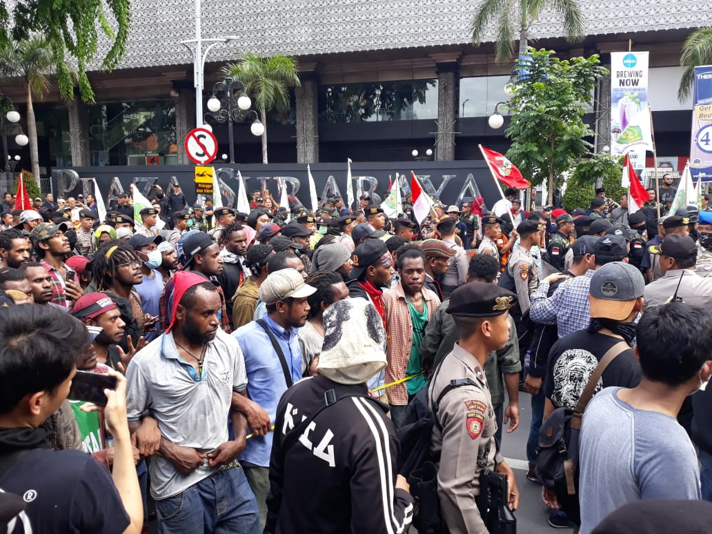 537 Papuan arrested before and after Dec. 1 rallies in various cities