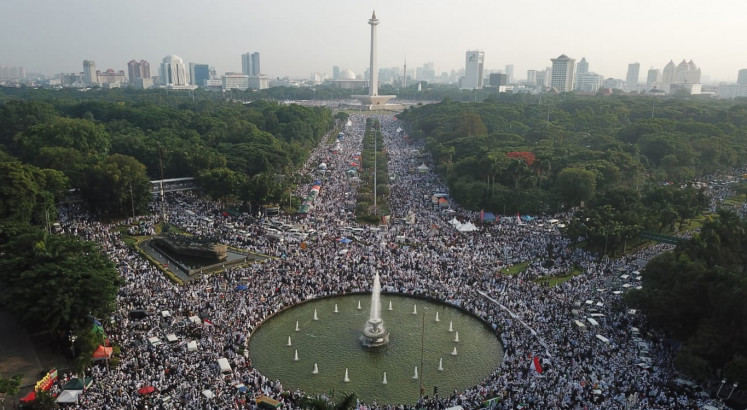 Islamist group, opposition leaders join 212 rally anniversary