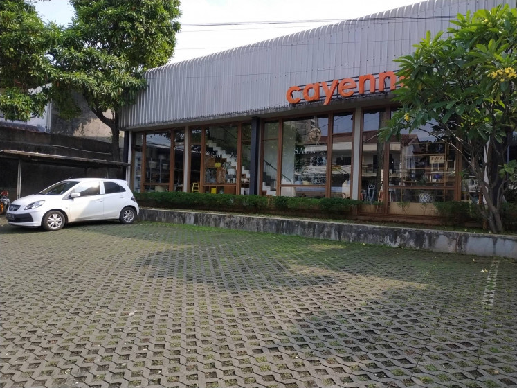 Furniture store Cayenne in Kemang, South Jakarta.