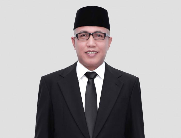 Nova Iriansyah Acting Governor of Aceh