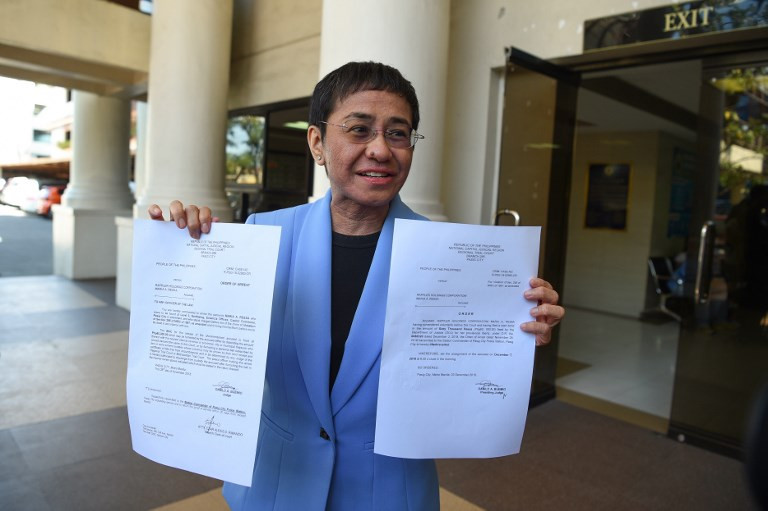 Asia News Network condemns arrest of Rappler's Maria Ressa