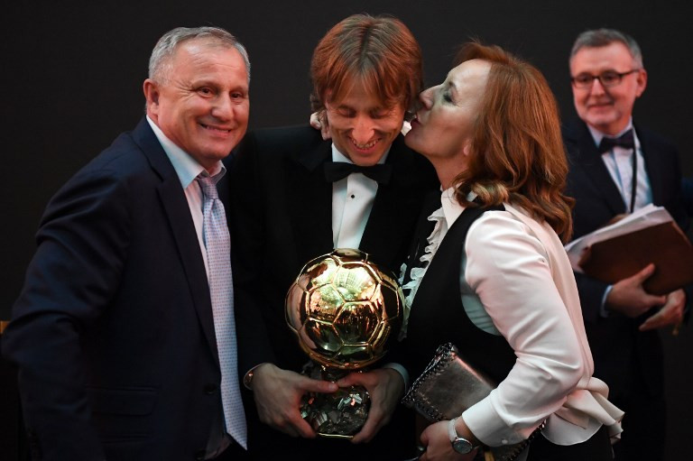 Modric beats French World Cup stars to win Ballon d'Or