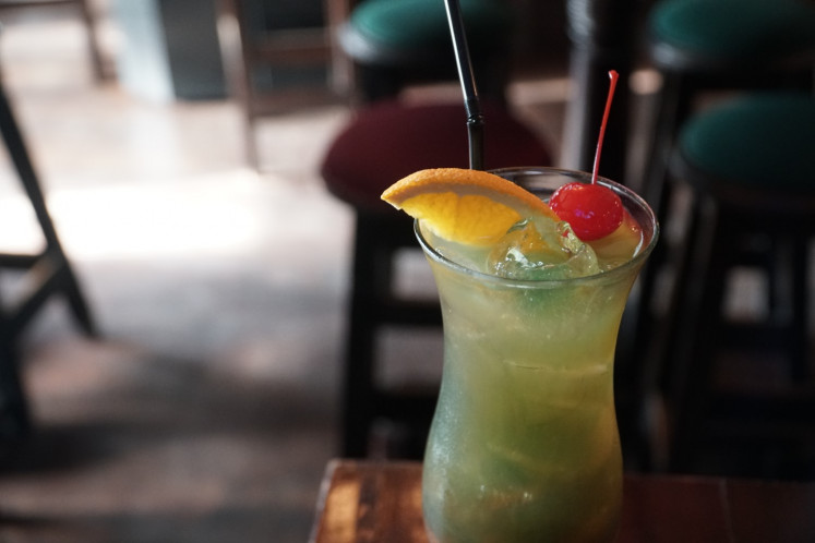 One of the beverages served at Murphy's Pub & Restaurant, the Incredible Irish.