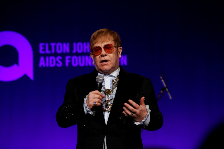 Elton John, Liam Gallagher hit out at Brexit impact on tours