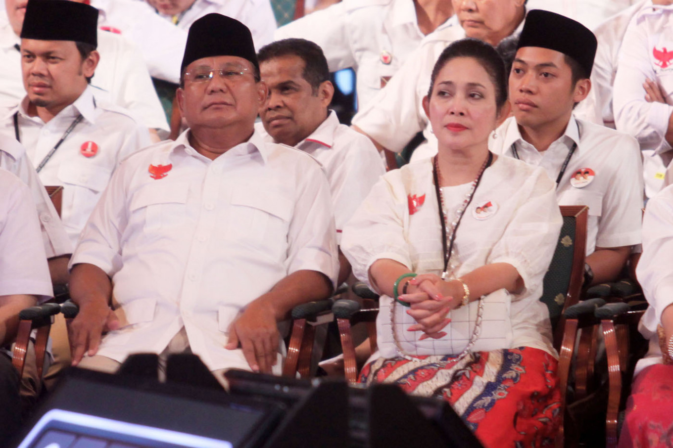 Prabowo answers all your burning questions in his little blue book