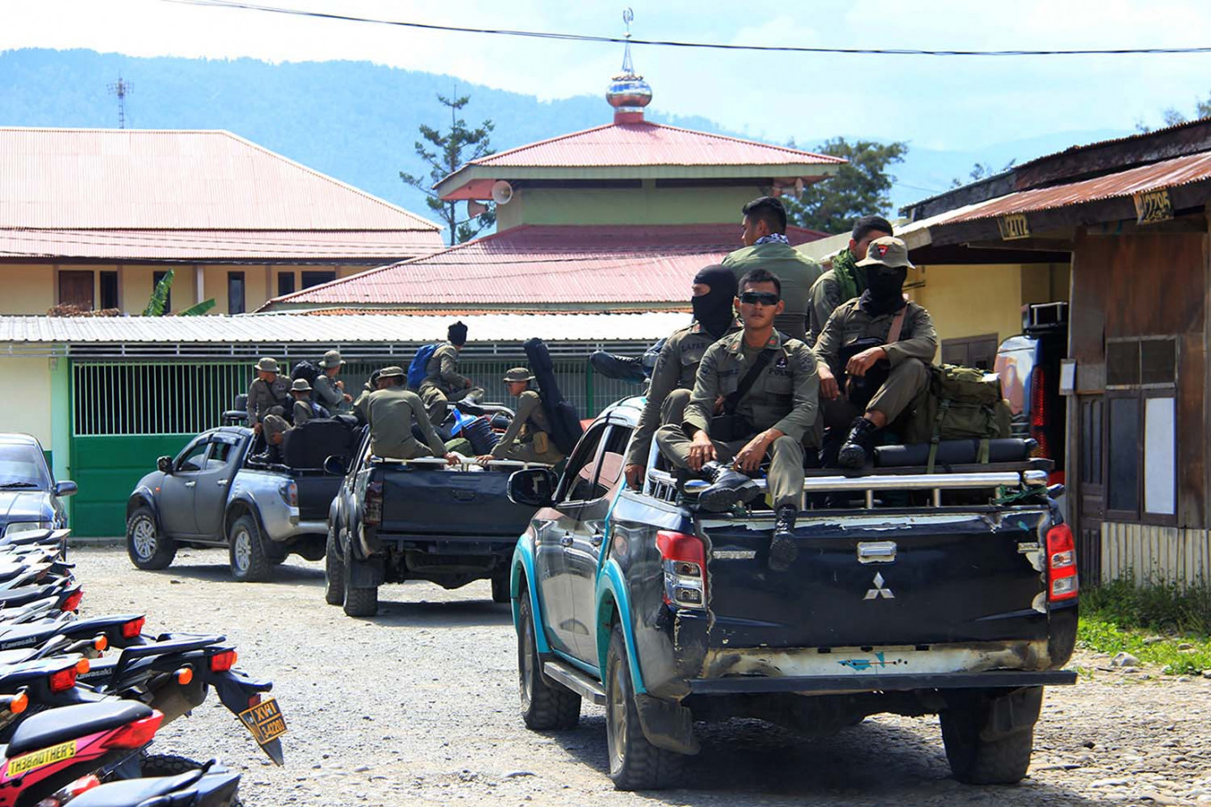 Police strengthen forces in five newly formed police precincts in restive Papua