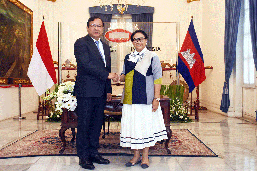 Indonesia, Cambodia on course for new shape of relationship