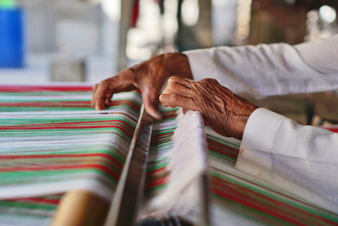 Fashioning a better future for Indonesian weavers