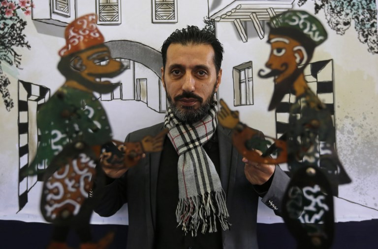 UN listing gives lifeline to Syria's last shadow puppeteer