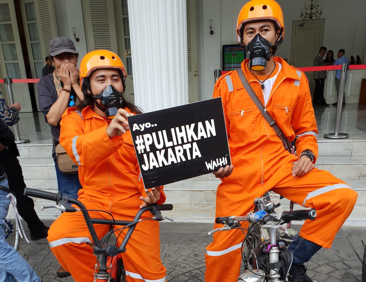 Pollution wake-up call