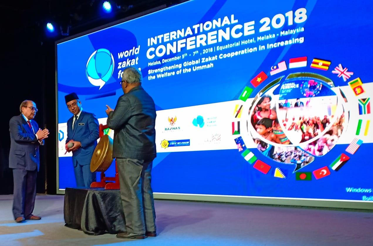Melaka chief minister opens WZF 2018