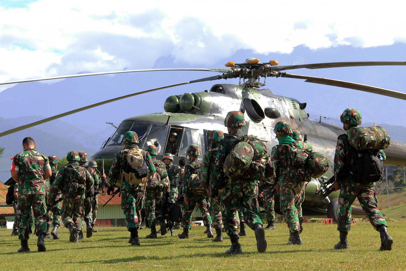 OPM says TNI, police shot medical workers in Papua