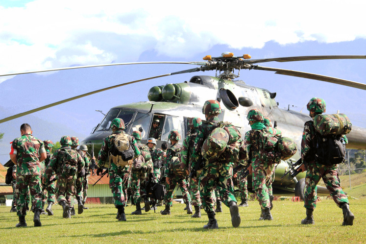 Massacre in Nduga: Who should protect the nation?