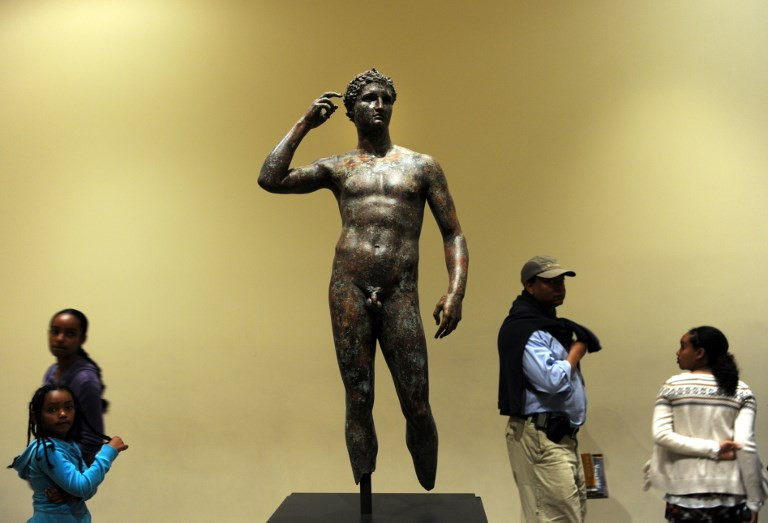 Getty museum vows to fight Italy court decision on prized statue