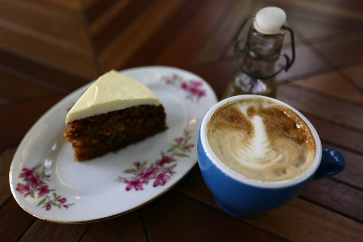 Enjoy coffee and cake at Breakfast at Cayenne.