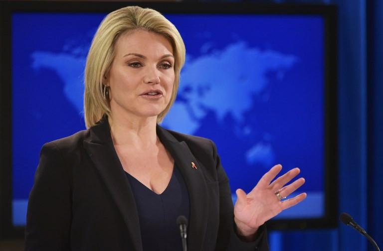 Trump to pick State Dept spokeswoman Heather Nauert as UN envoy: Reports