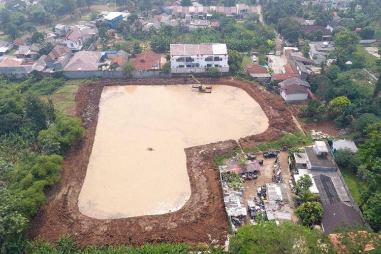Heart-shaped artificial lake in South Jakarta to mitigate floods