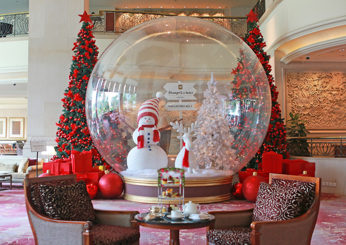 Five Christmas feast destinations in Jakarta