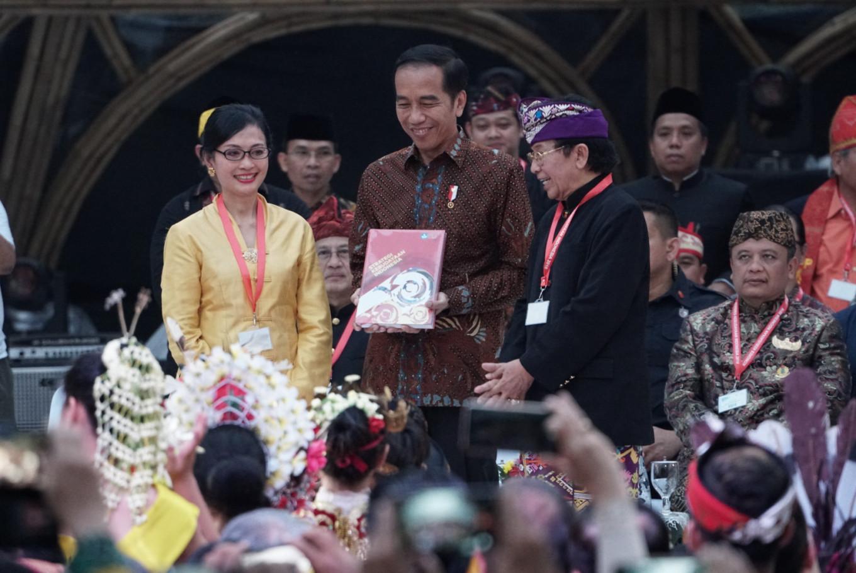 Jokowi stresses tolerance at cultural congress conclusion