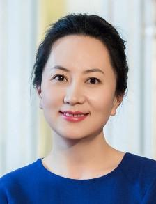 Meng Wanzhou or Sabrina Meng, the chief financial officer of Huawei.