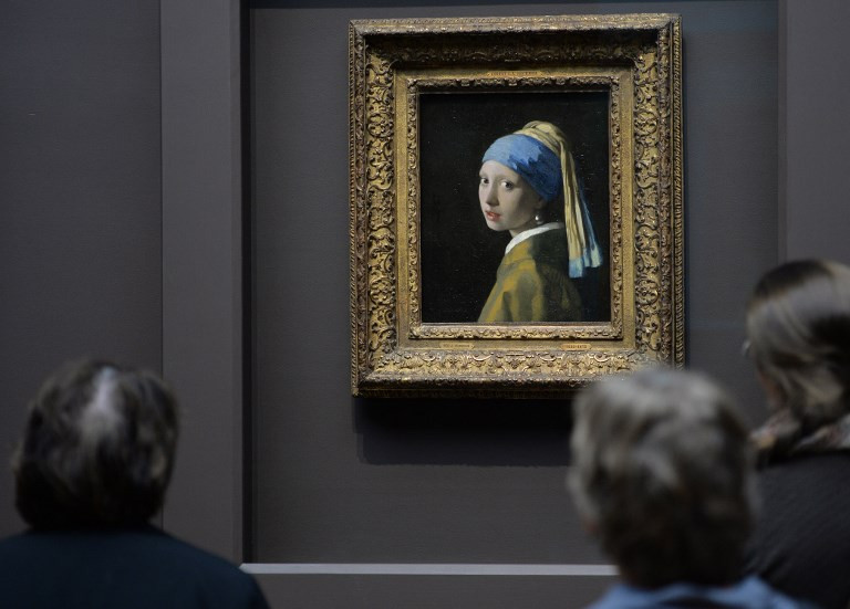 See Vermeer's complete works in augmented reality