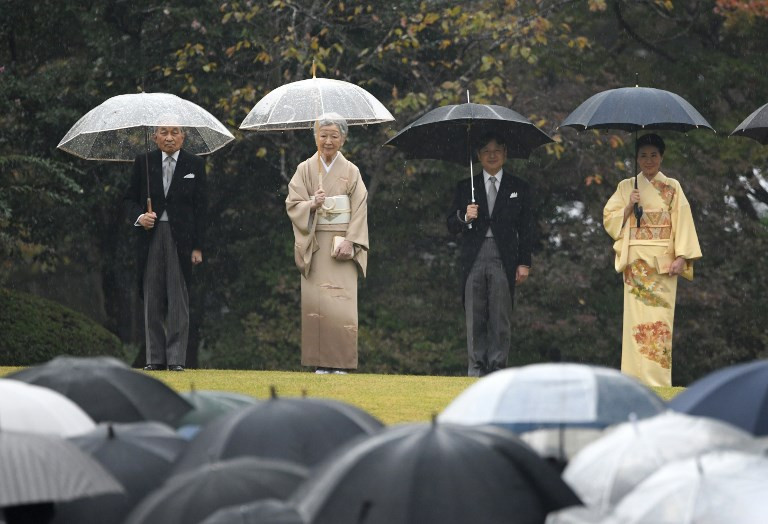 Japanese group sues over emperor's enthronement funding