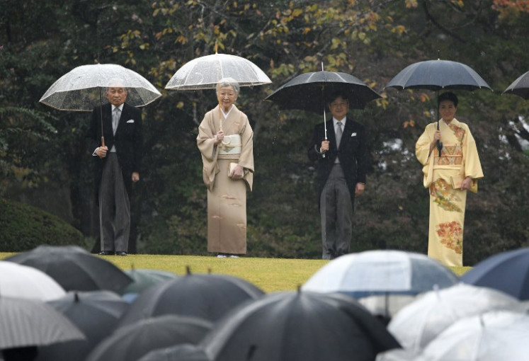 Tokyo Olympics ceremony, chance for new emperor to strike back