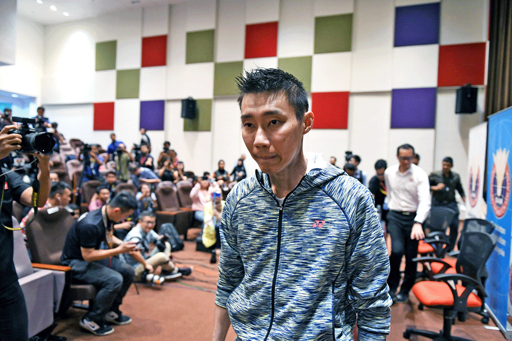 Badminton's Lee bows out of Sudirman Cup in another blow to Olympic dream