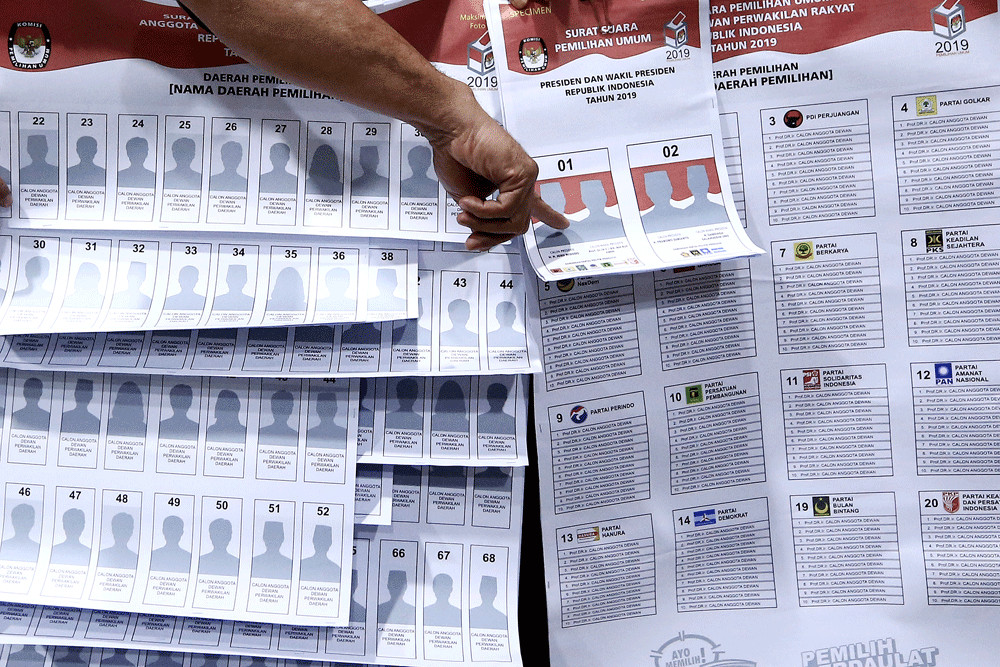 KPU reports propagators of 'cast ballots' rumor to police