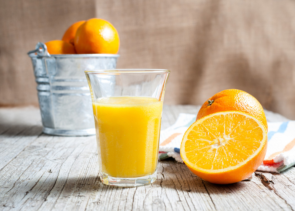 Orange juice, leafy greens and fruit could be good for a man's memory