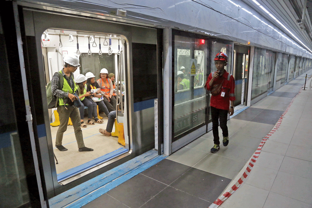 Jakarta Receives Rp 9 Trillion Loan For Phase 2 Of Mrt Project