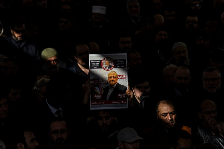 Khashoggi, other targeted journalists named Time 'Person of the Year'