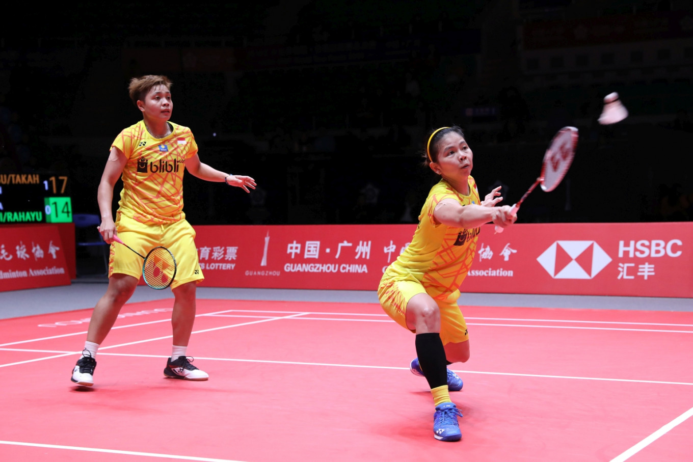 Greysia and Apriyani stay positive despite losing group opener in BWF Finals