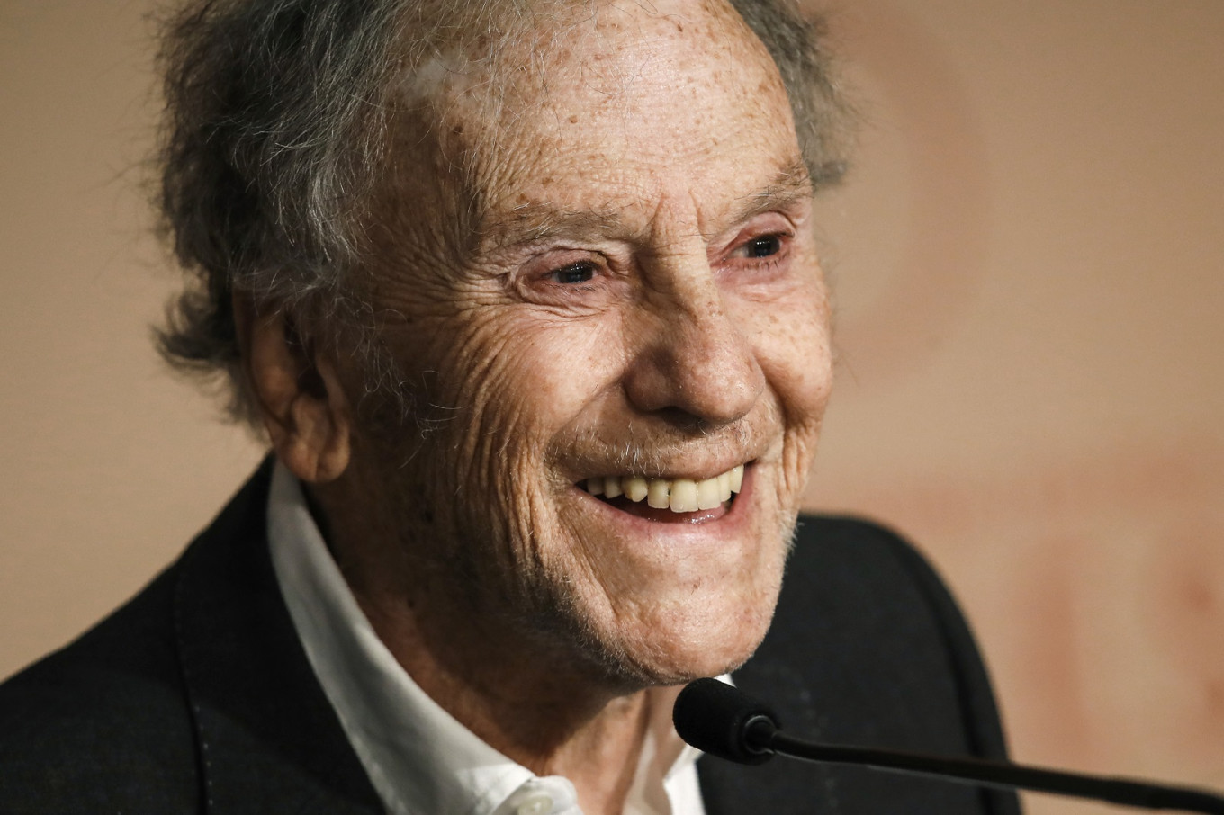 Cancer, chaos, tragedy... French film legend Trintignant reaches for poetry