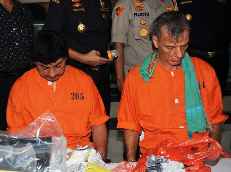 Five foreigners arrested in Bali drug sweep