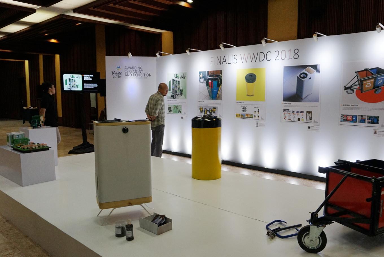 Waste management design winner wants garbage free Bandung