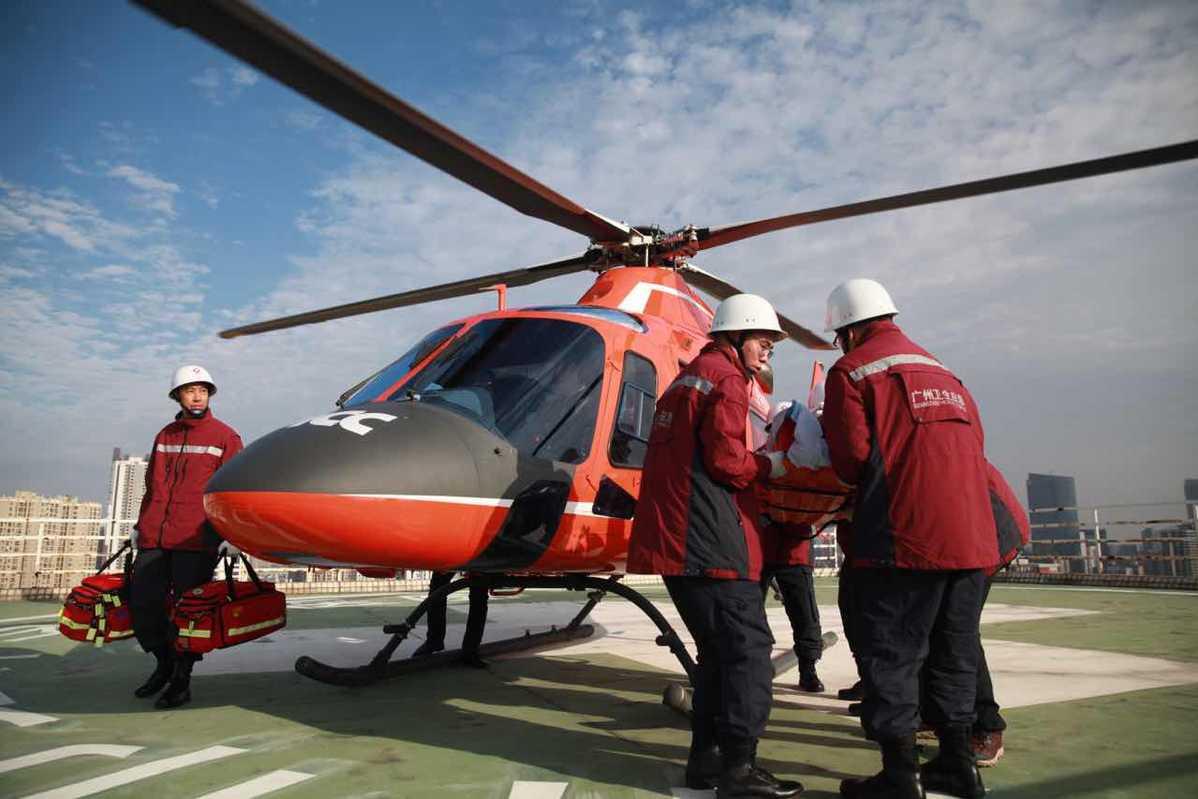 Guangzhou hospital receives first patient via international rescue