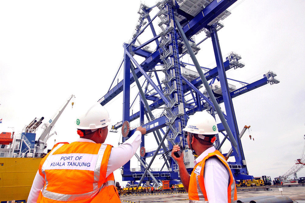 Dutch and Chinese operators to help expand Kuala Tanjung port