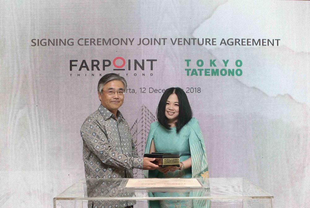 FARPOINT, Tokyo Tatemono set up joint venture company