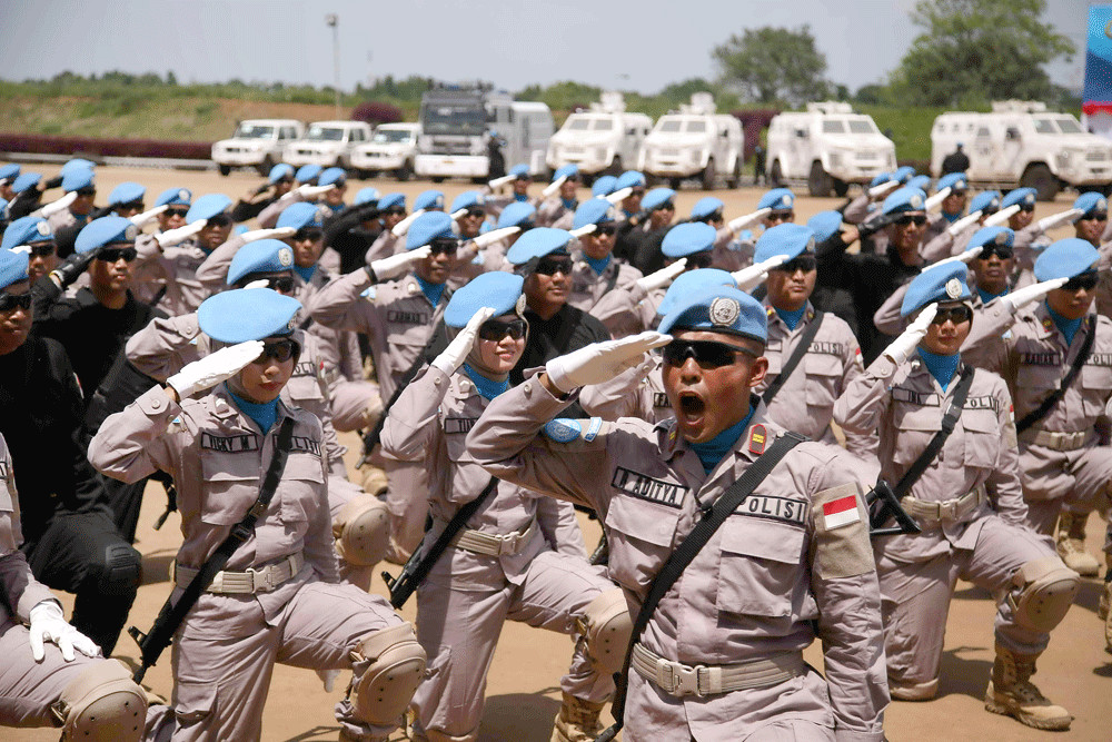 Increasing peacekeeping role via technology