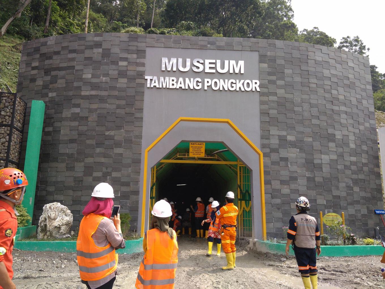 Pongkor gold mine museum, Indonesia's first underground museum.
