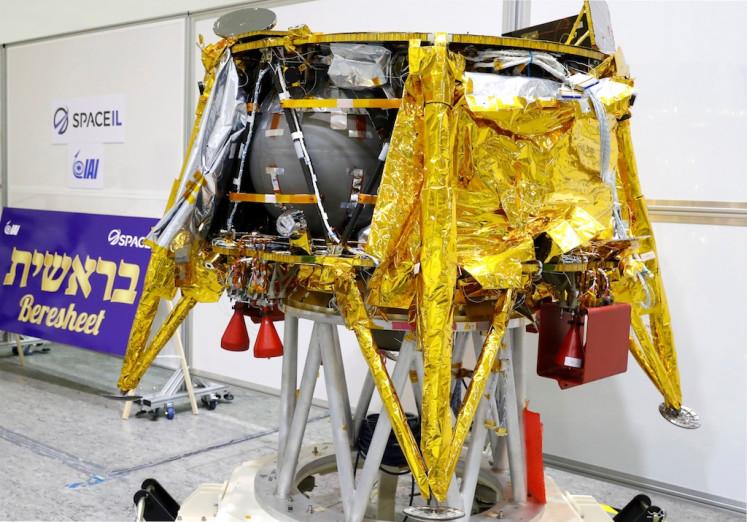 Israeli spacecraft gets special passenger before moon journey