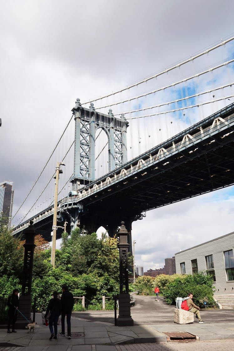 DUMBO is a must-visit attraction in Brooklyn.