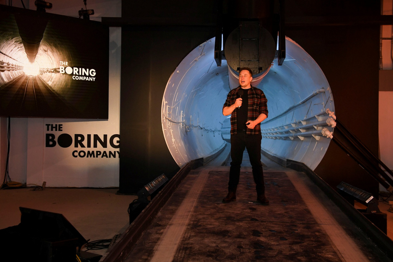 Tunnel through an Australian mountain? No problem, says Elon Musk