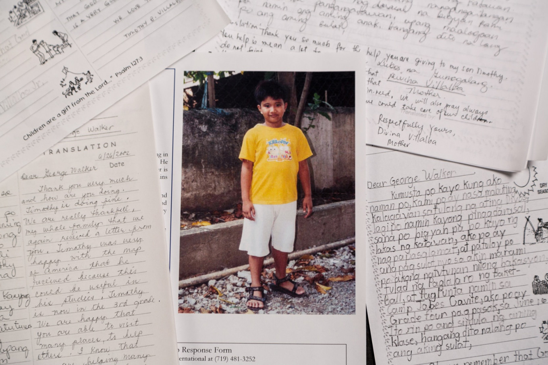 George H W  Bush secretly sponsored Filipino boy, letters