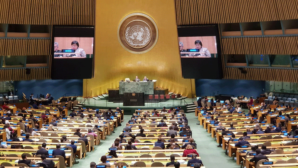 Indonesia calls for 'collective response' as UN passes COVID-19 resolution